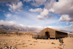 Manzanar War Relocation Center was one of ten camps where Japanese American citizens and resident Japanese aliens were interned during World War II.
