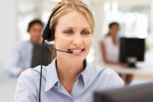 575 Madison Avenue New York City Office Space Headset Woman